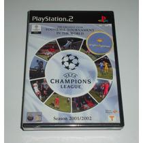 Uefa Champions League 2001 / 2002 | Futebol | Ps2 | Original