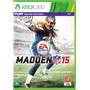 Madden N F L 15 - Xbox 360 - S. G.