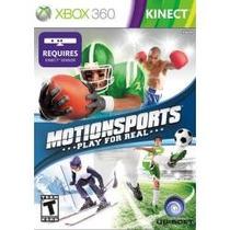 Motion Sports - Xbox 360 Kinect - Lacrado - Ntsc