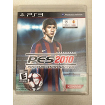 Ps3 Pro Evolution Soccer 2010 - Pes 2010 Messi Na Capa
