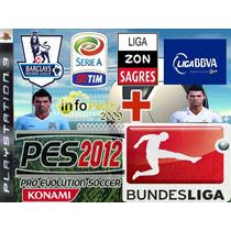 Patch Atualização Européia + Bundesliga Pes 2012 Americano !