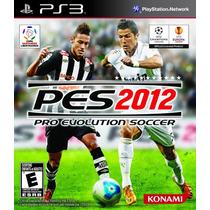 Pes 2012 Em Português - Pro Evolution Soccer - Ps3 - Lacrado