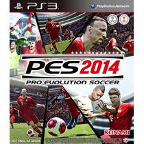 Pes 2014 Ps3 Pro Evolution Soccer 2014portugues-br Gamesclub