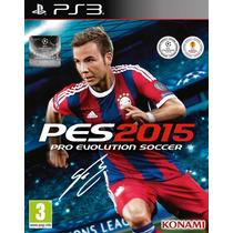Pes 2015 - Playstation 3 - Artgames Digitais