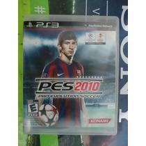 Jogo Ps3 Usado - Pro Evolution Soccer 2010 - Pes 10
