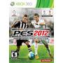 Pro Evolution Soccer 2012 Pes 2012 Pes 12 Xbox 360 Português