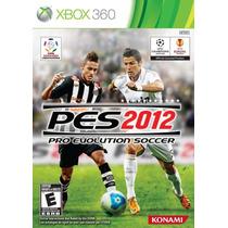 Pes 2012 - Xbox 360 Original Novo!