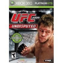 Jogo Novo Lacrado Ufc 2009 Undisputed Para Xbox 360