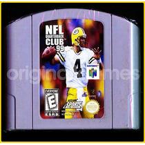 Nfl Quarterback Club 99 Nintendo 64 Usado Futebol   Original