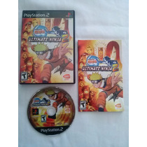 Naruto Ultimate Ninja 2 Playstation 2 Original Ntsc Completo
