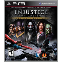 Jogo Injustice: Gods Among Us Ultimate Edition Playstation 3