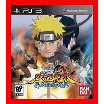 Naruto Shippuden U Ninja Generations Ps3 Frete Gratis