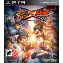 Street Fighter X Vs. Tekken - Jogo Semi Novo Playstation 3