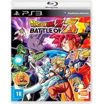 Dragon Ball Z: Battle Of Z - Ps3 - Leg. Port - Lacrado S. G.