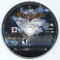 Batman Arkham Asylum Blu Ray #frete Grátis# Venda/troca#
