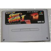 Street Fighter 2 Original Super Famicom Super Nintendo Snes