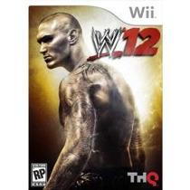 Jogo Ntsc Lacrado W12 Wwe 2012 Para Nintendo Wii Da Thq