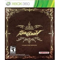 Box Semi Novo Soul Calibur V Collector`s Edition Xbox 360