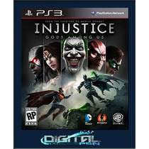 Injustice Gods Among Us + Dc Universe Ultimate Edition Ps3