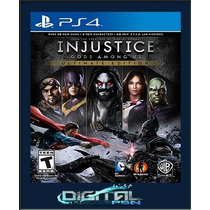 Injustice Gods Among Us + Dc Universe Ultimate Edition Ps4