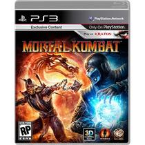 Mortal Kombat 9 Original Ps3 Envio Imediato!