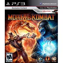 Mortal Kombat + Darksiders Ps3 - Playstation 3 - 2 Jogos