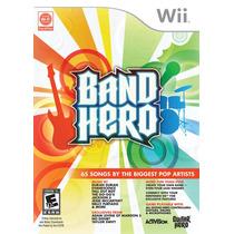 Jogo Nintendo Wii Band Hero Original Novo Lacrado !!!! Ntsc