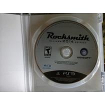 Rocksmith 2014 - Playstation 3 - Ultima Versão ! Com O Cabo!