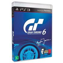 Jogo Gran Turismo 6 Totalmente Em Português - Playstation 3