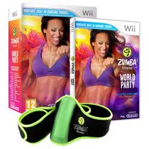 Jogo Zumba Fitness World Party Com Zumba Belt Nintendo Wii