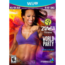 Jogo Zumba Fitness World Party Com Zumba Belt Nintendo Wii U