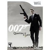 Jogo Lacrado Para Nintendo Wii 007 Quantum Of Solace