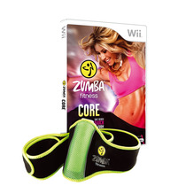 Box Zumba Fitness Core Com Zumba Belt Incluso Pra Wii