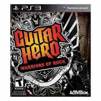 Jogo Guitar Hero Warriors Of Rock