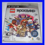 Rock Band Lego Ps3 Original Lacrado Guitar Hero Playstation