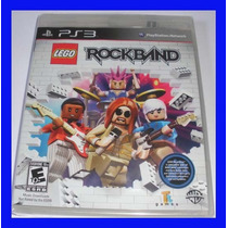 Rock Band Lego Ps3 Original Lacrado Guitar Hero Playstation