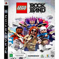 Rock Band Lego Ps3 Novo E Lacrado