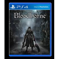 Bloodborne Ps4 Secundária Em Pt/br Bônus Na Pré-venda