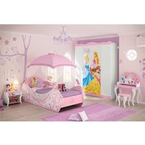 Quarto Juvenil 100% Mdf Princesas Disney Star Pura Magia