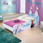 Cama E Criado Mudo Frozen Disney Star 100% Mdf - Pura Magia