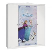 Guarda Roupa Frozen Star Branco Pura Magia