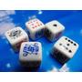 Dados 6 Lados De Poker Kit Com 5 Peças, 17 Mm