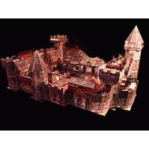 Cenário Em Paper Model - Castelo P/ Rpg, Wargame, Tabuleiros