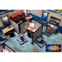 Cenário Departamento De Polícia P/ Rpg, Wargame, Tabuleiros
