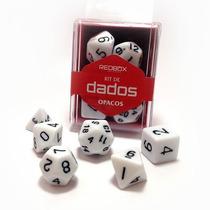 Kit De Dados Opacos - Redbox (7 Peças)