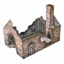 Cenário - Casa Em Ruinas P/ Wargame, Rpg,tabuleiro, Mage,etc