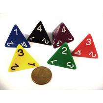 Dado De 4 Faces - D4 D&d Rpg Magic Board Game Tabuleiro