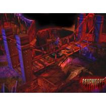 Cenário - Caverna 3d P/ Rpg, Wargame,tabuleiros, Mage Knight