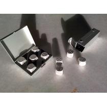 Rpg Kit Cinco Dados De Seis Lados De Alumínio (5d6)