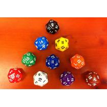Dado De 20 Faces - D20 D&d Rpg Magic Board Game Tabuleiro